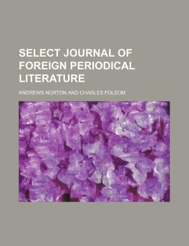 9781235766985: Select Journal of Foreign Periodical Literature