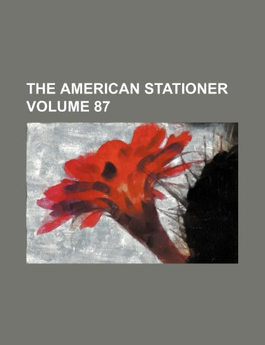 9781235892066: The American stationer Volume 87