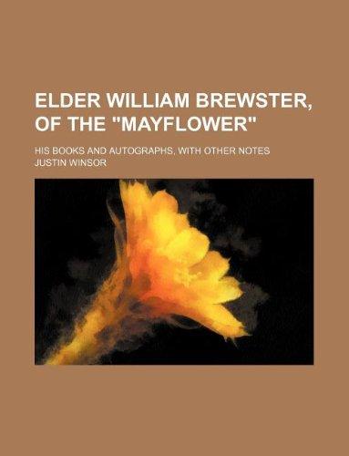 9781235902215: Elder William Brewster, of the