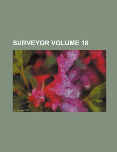 9781235914959: Surveyor Volume 18