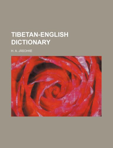9781235945151: Tibetan-English Dictionary