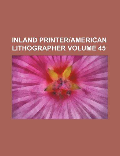 9781235952029: Inland printer|American lithographer Volume 45