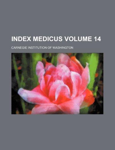 9781235986499: Index medicus Volume 14