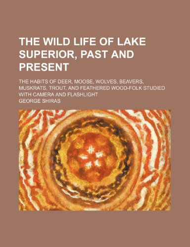 9781236031495: The wild life of Lake Superior, past and present; the habits of deer, moose, wolves, beavers, muskrats, trout, and feathered wood-folk studied with camera and flashlight