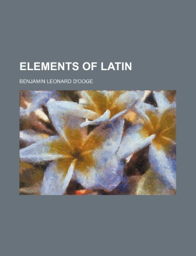 9781236066329: Elements of Latin