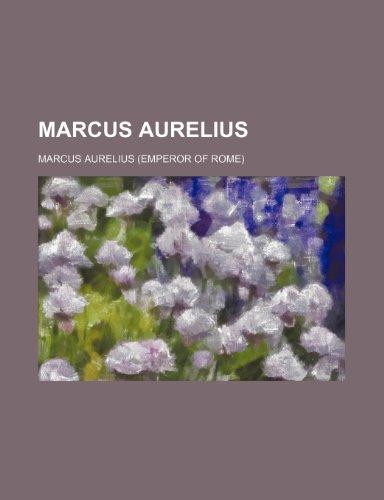 9781236074249: Marcus Aurelius