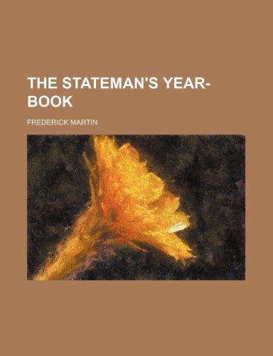 9781236105219: THE STATEMAN'S YEAR-BOOK