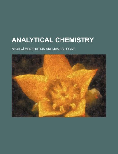 9781236114822: Analytical chemistry