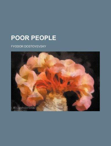 9781236116819: Poor People