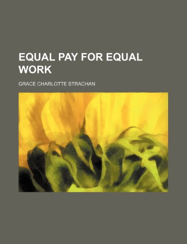 9781236158321: Equal pay for equal work