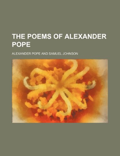 9781236197351: The Poems of Alexander Pope