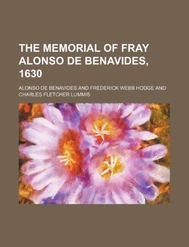 9781236215116: The memorial of Fray Alonso de Benavides, 1630