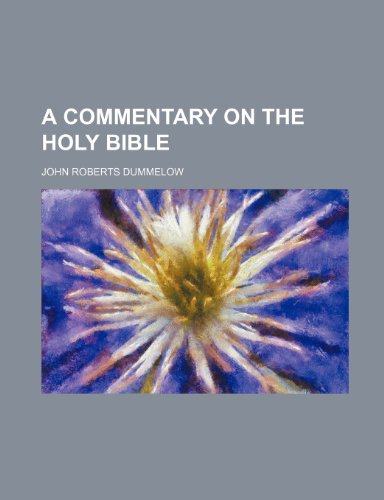 9781236237613: A Commentary on the Holy Bible