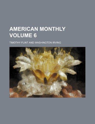 9781236243102: American Monthly Volume 6
