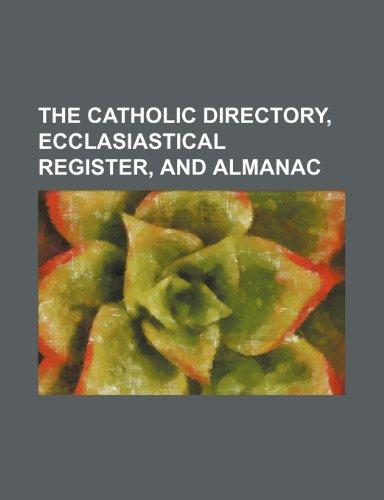 9781236256942: The Catholic directory, ecclasiastical register, and almanac