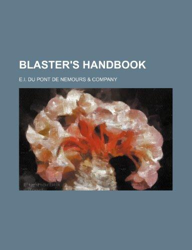 9781236278142: Blaster's Handbook