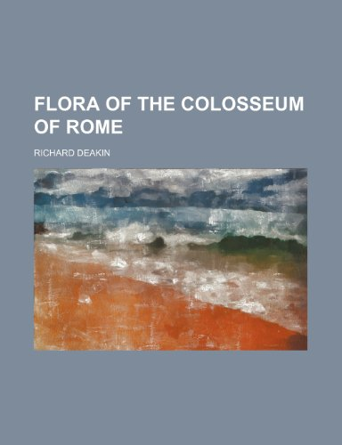 9781236289193: Flora of the Colosseum of Rome