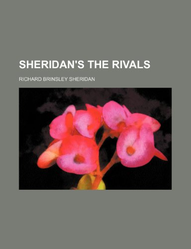 9781236299543: Sheridan's The rivals