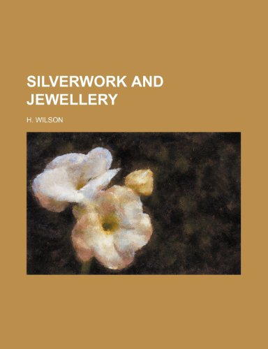9781236317292: Silverwork and jewellery