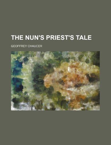 9781236328588: The Nun's Priest's Tale