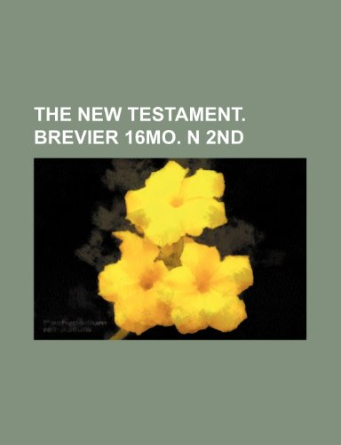 9781236344373: The new Testament. Brevier 16mo. n 2nd