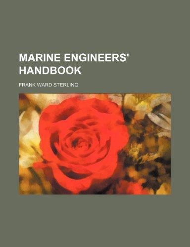 9781236344502: Marine engineers' handbook