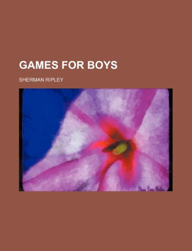9781236372772: Games for boys