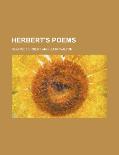 Herbert's poems (1236384059) by George Herbert
