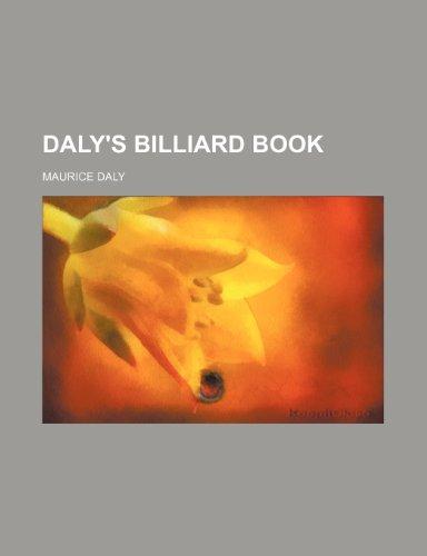 9781236390448: Daly's Billiard Book