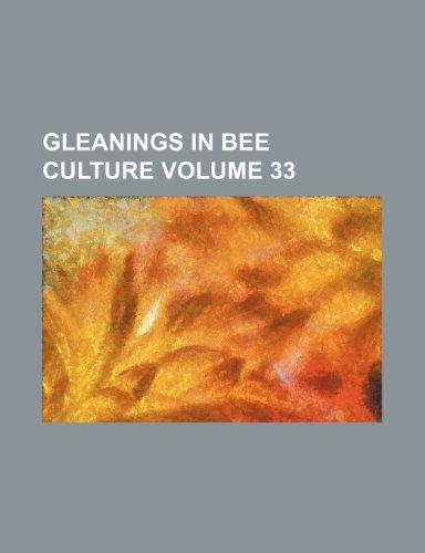9781236406590: Gleanings in bee culture Volume 33