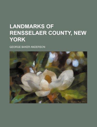 9781236415219: Landmarks of Rensselaer County, New York