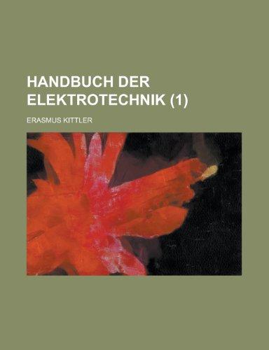 9781236434678: Handbuch Der Elektrotechnik (1)