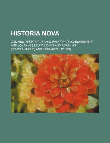 9781236472038: Historia Nova