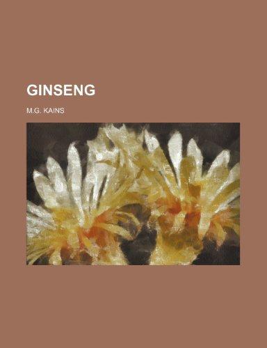 9781236479587: Ginseng