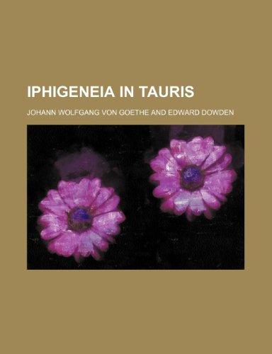 Iphigeneia in Tauris (1236482395) by von Goethe, Johann Wolfgang