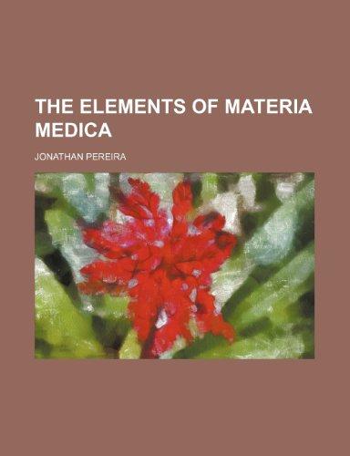 9781236497659: The Elements of Materia Medica