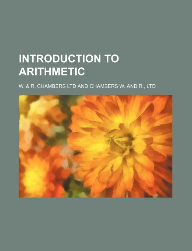 9781236500144: Introduction to arithmetic