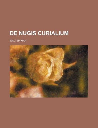9781236507075: de Nugis Curialium