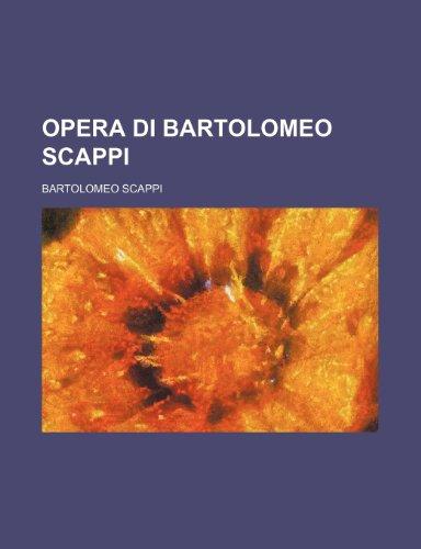 9781236511171: Opera Di Bartolomeo Scappi