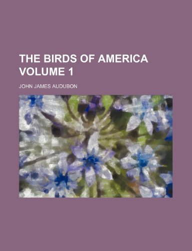 9781236517500: The birds of America Volume 1
