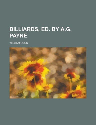 9781236567666: Billiards, Ed. by A.G. Payne