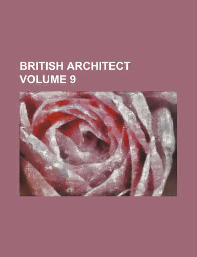 9781236590787: British Architect Volume 9