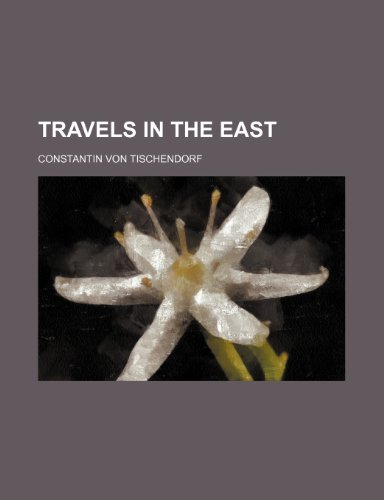 9781236594051: Travels in the East