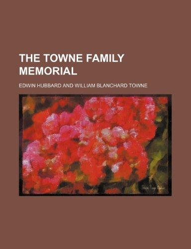 9781236614575: The Towne Family Memorial