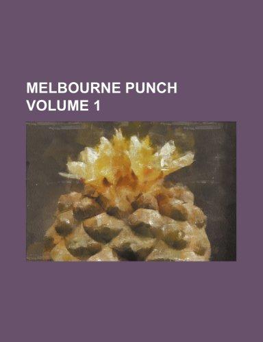 9781236619341: Melbourne Punch Volume 1