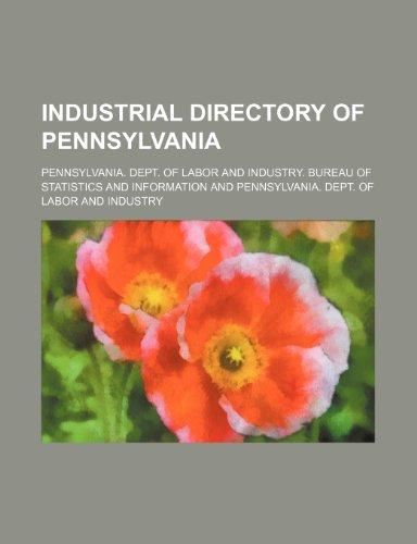 9781236636652: Industrial directory of Pennsylvania