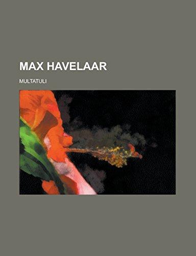 9781236683922: Max Havelaar
