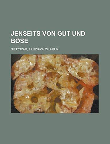 9781236687623: Jenseits von Gut und Böse (German Edition)