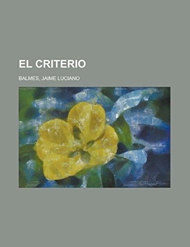 9781236692993: El Criterio