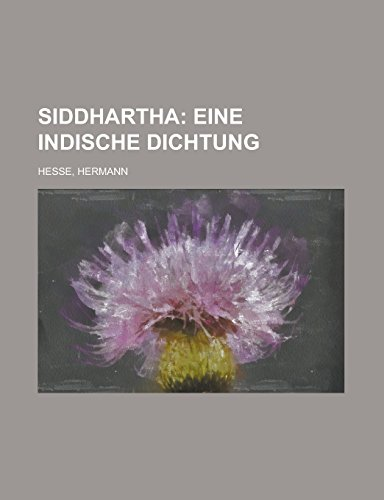 9781236706737: Siddhartha (German Edition)